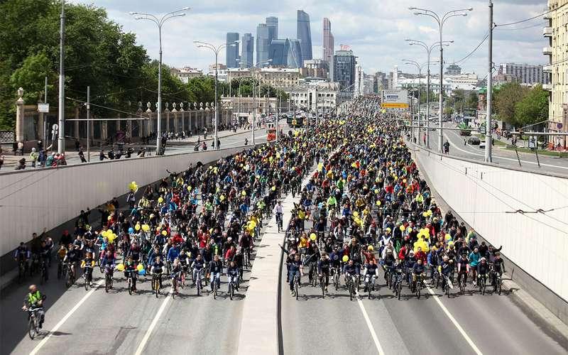 Движение транспорта перекроют наСадовом кольце 20мая из-за проведения Всероссийского велопарада