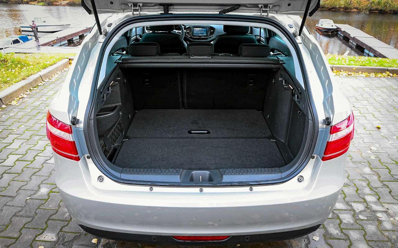Базовая Lada Vesta SWили нафаршированный Largus— что выбрать?— фото 828178