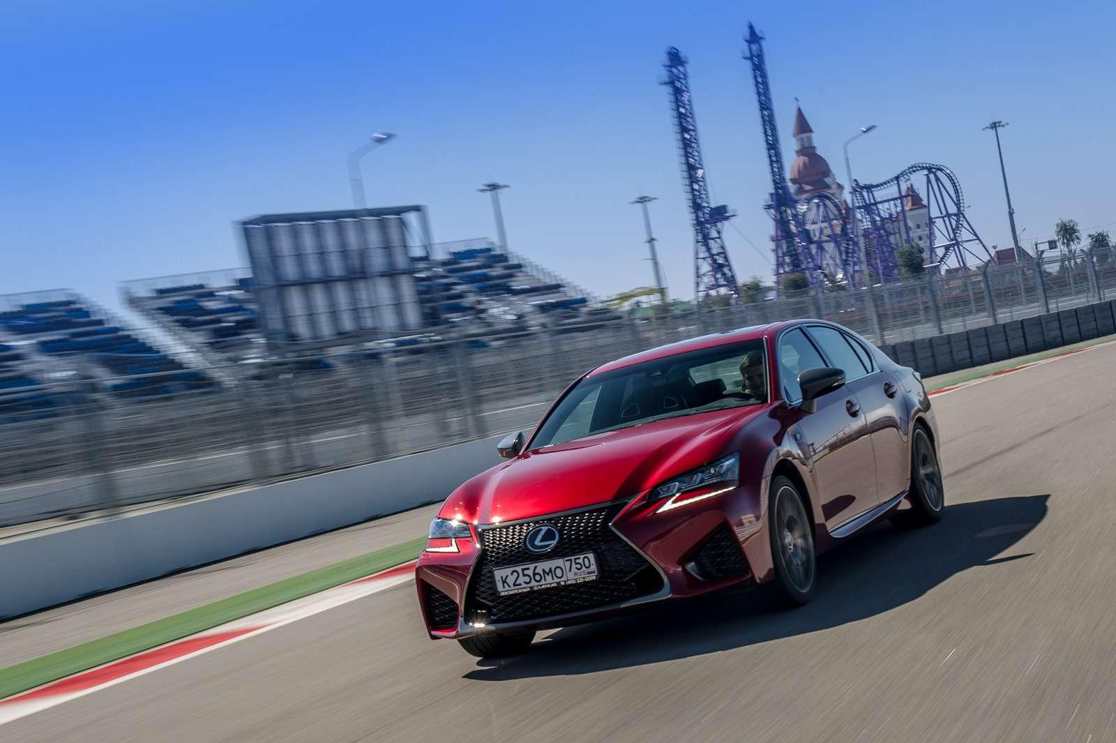 Оператив ЗР: Lexus RCFиGSFжгут на«Сочи Автодроме»— фото 571713