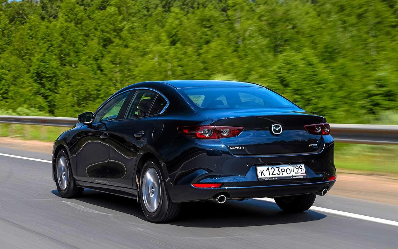 VWJetta, Kia Cerato, Mazda 3— тест-сравнение— фото 1156447