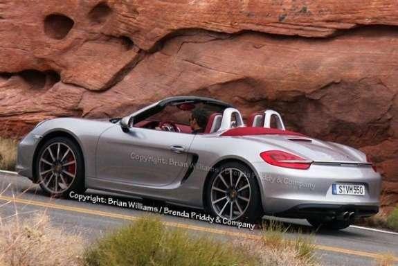 Next Porsche Boxster side-rear view 2