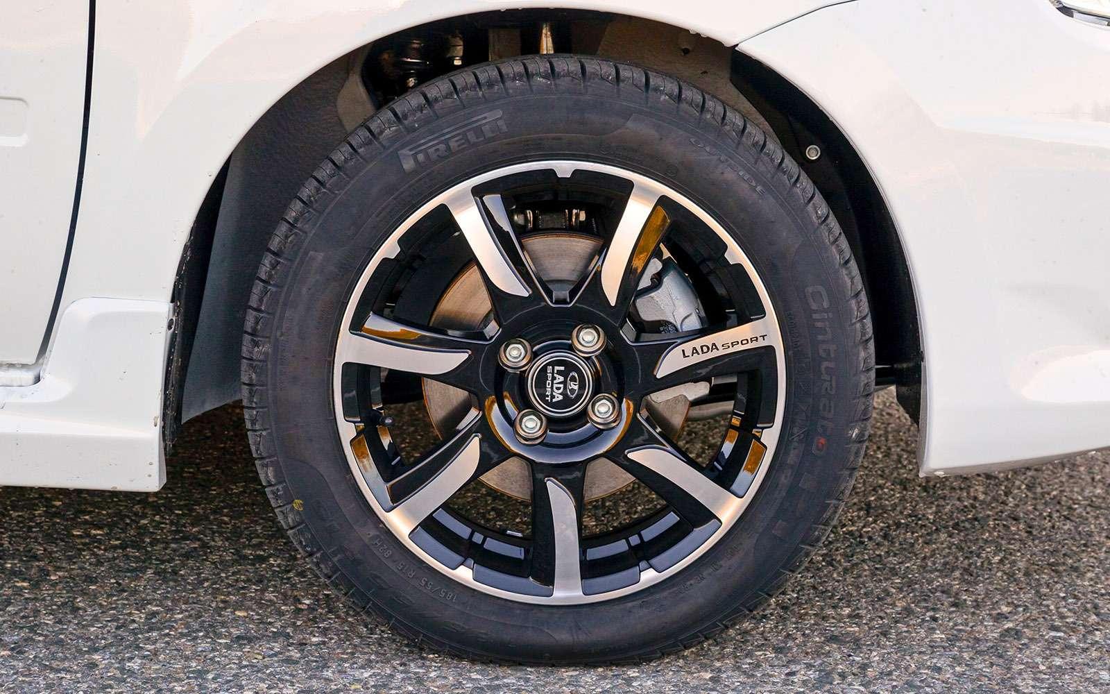 Lada Drive Active: горячие Гранта иКалина— фото 685739