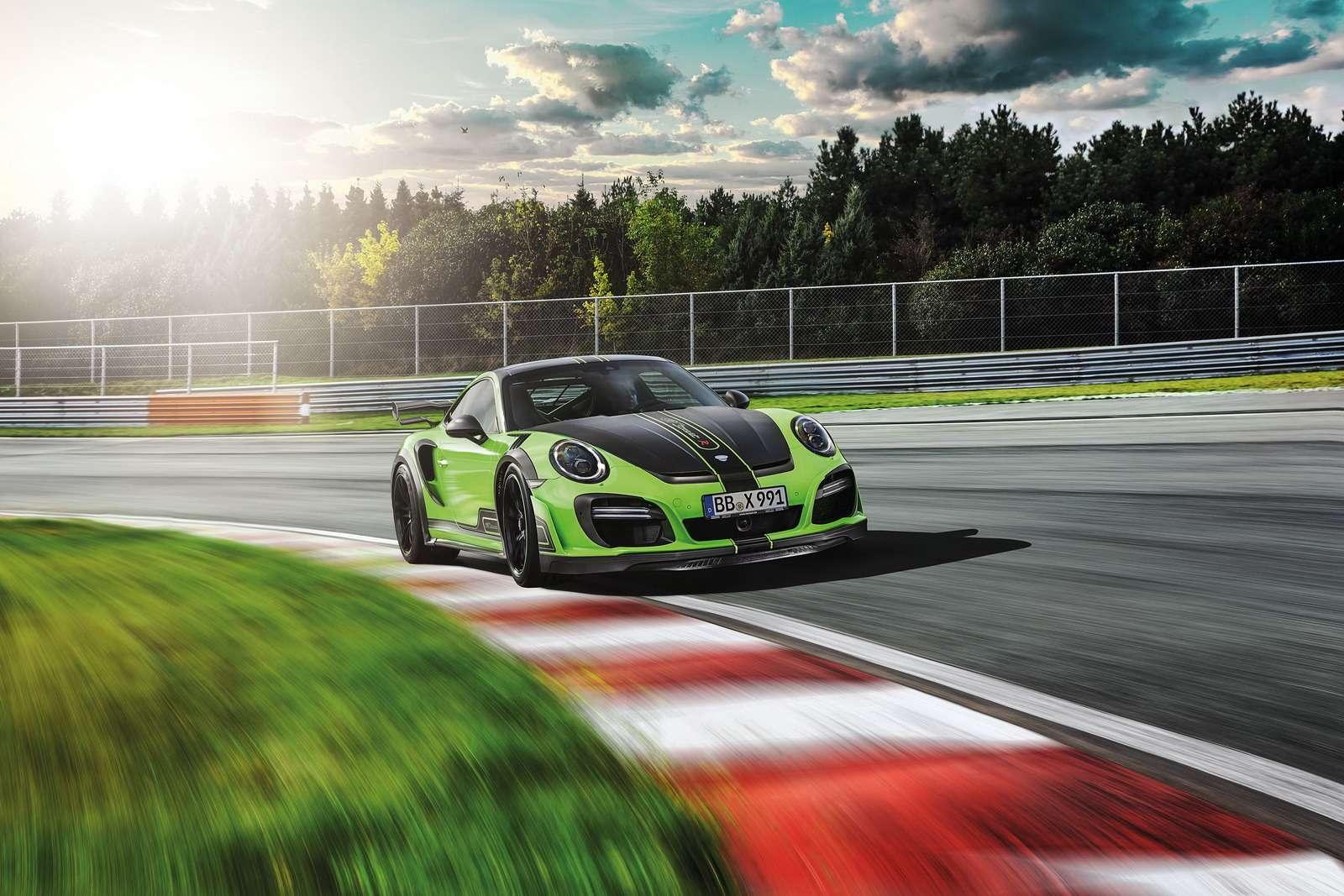 Искусство устрашения: Porsche 911 GTStreetR пройдет подорогам огнем имечом— фото 660006