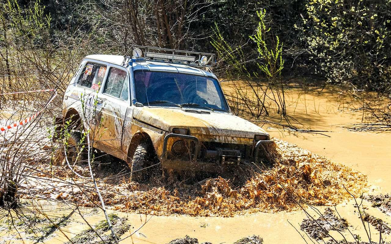УАЗПатриот, Chevrolet Niva иЛада 4х4— кто круче?— фото 910368
