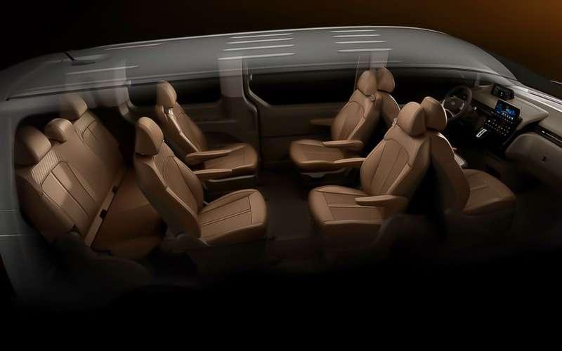 Микроавтобус Hyundai Staria: вРоссии уже осенью