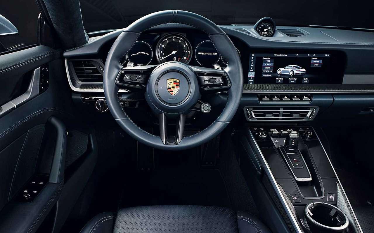 Новый Porsche 911: классический облик исовременная начинка— фото 926966