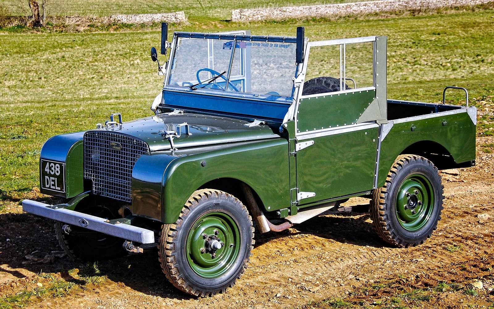 История Land Rover вкартинках: жить полной жизнью— фото 620639