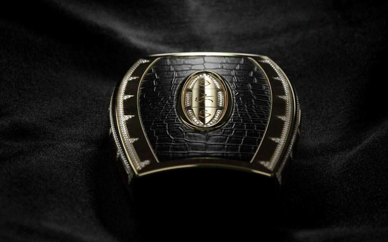 175г золота +34,5 карата бриллиантов =самый дорогой автоключ— фото 965455