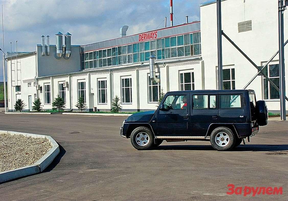 Таквыглядел завод в2004 году...