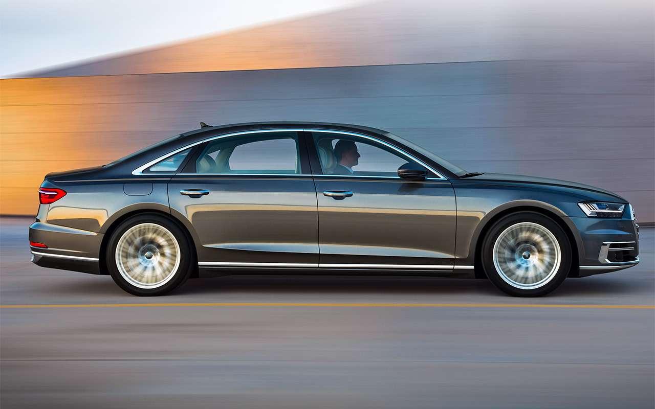 Новая Audi A8— проверяем задатки рефлексолога— фото 790725