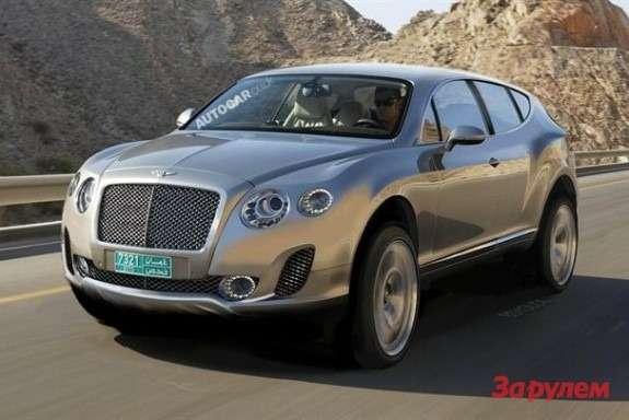 Bentley SUV rendering byAutocar