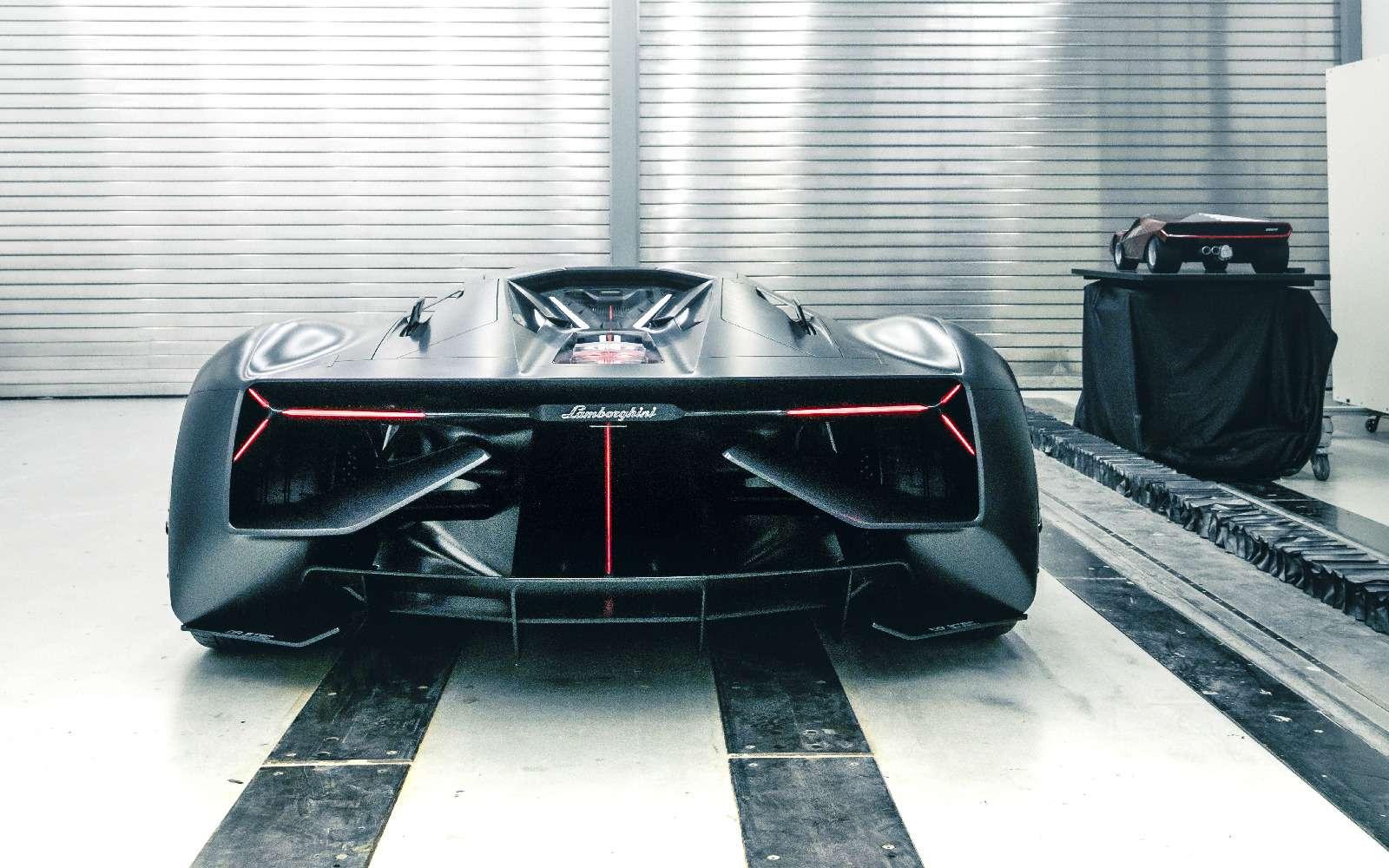 Lamborghini будущего: кузов-батарейка ссамовосстановлением— фото 813921