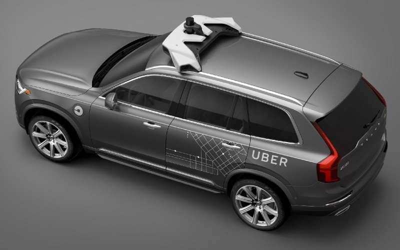 Образовался еще один беспилотный альянс— Volvo иUber