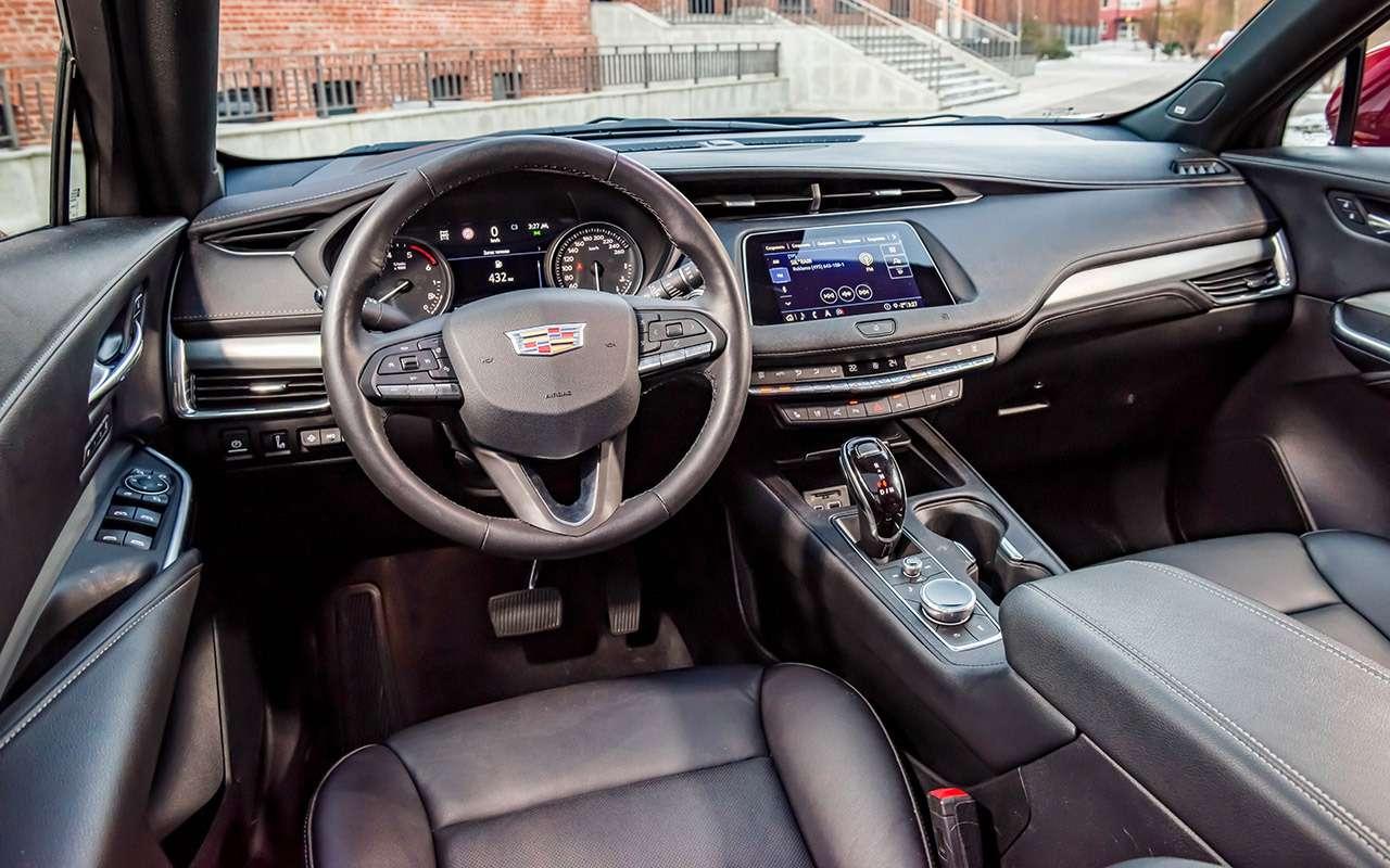 Тест самого дешевого кроссовера Cadillac. Сдизелем, кстати!— фото 1220523