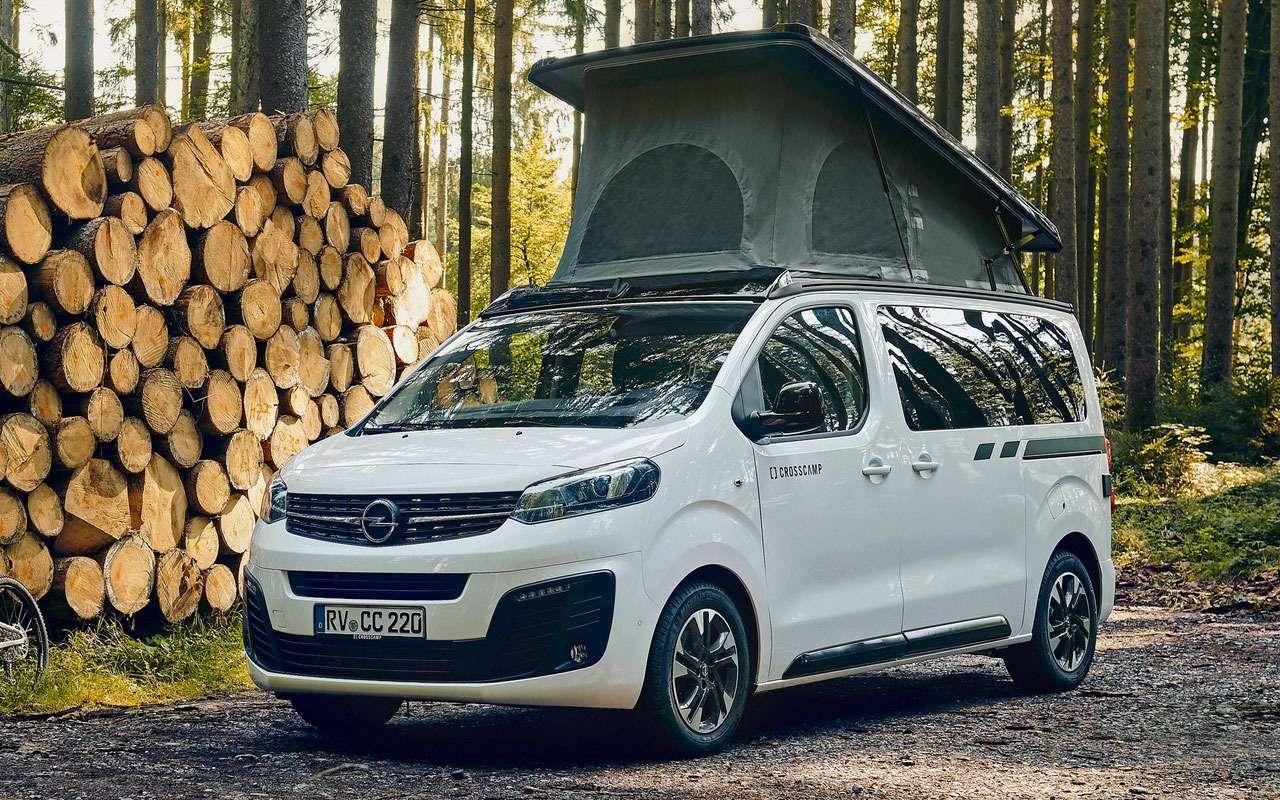 Opel представил дом наколесах— Crosscamp— фото 1227778