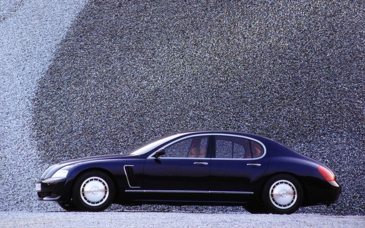 Всеначалось срисунка наконверте— краткая история Bugatti Veyron— фото 1117493