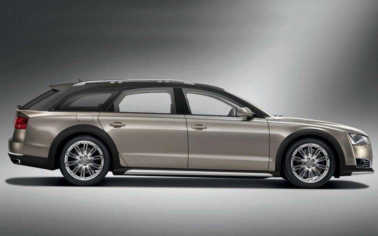 Audi A8станет универсалом повышенной проходимости— фото 933723