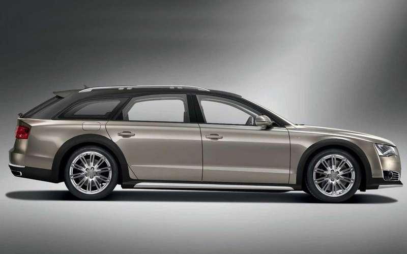 Audi A8станет универсалом повышенной проходимости