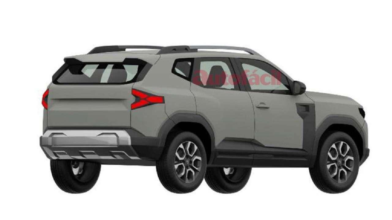 С прицелом нановую Ниву: запатентован дизайн Dacia Bigster— фото 1247821