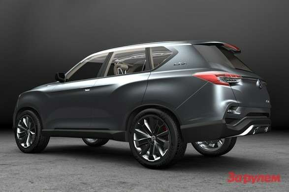 SsangYong LIV 1 Concept side rear view