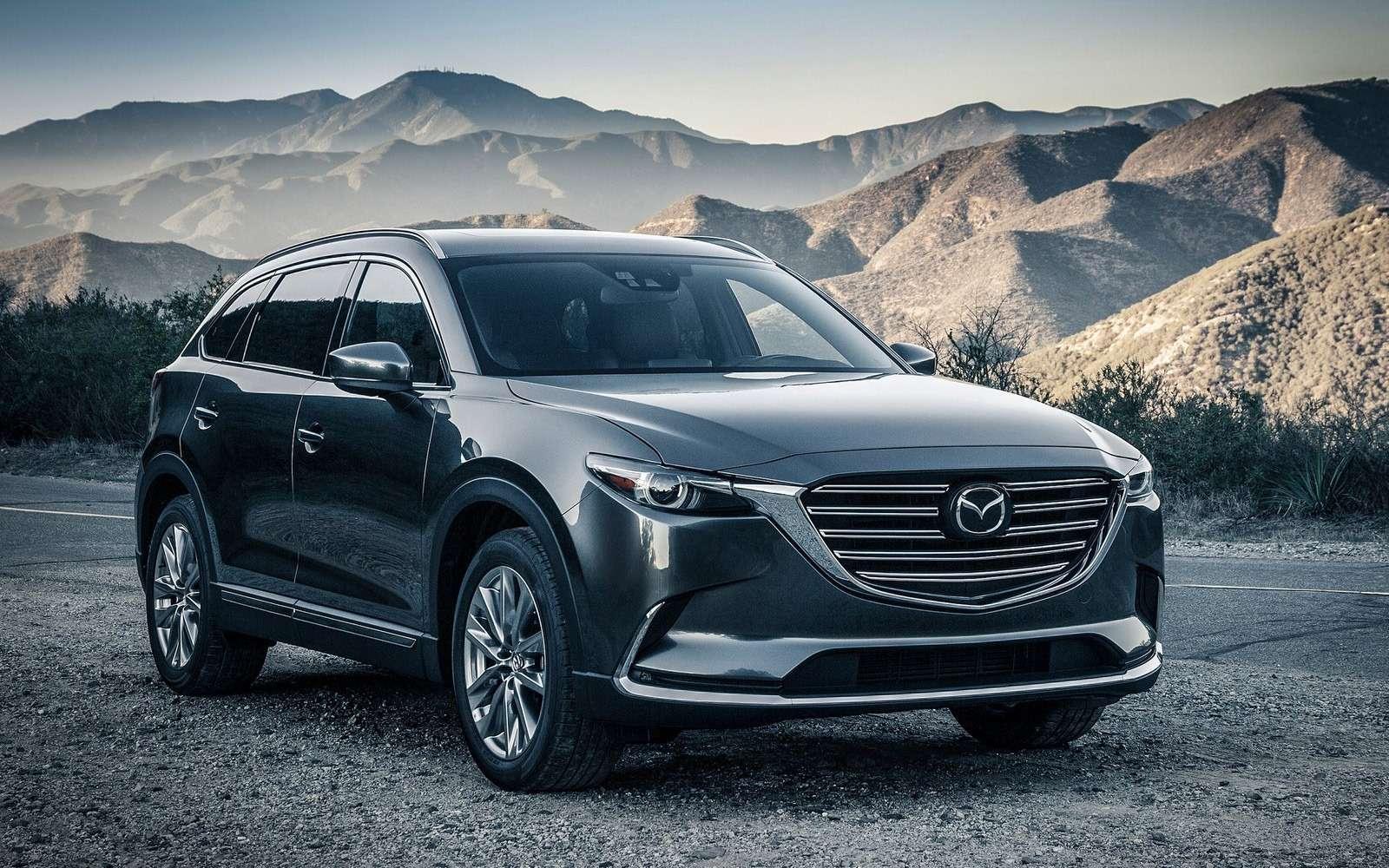 Mazda объявила рублевые цены накроссовер CX-9— фото 786294