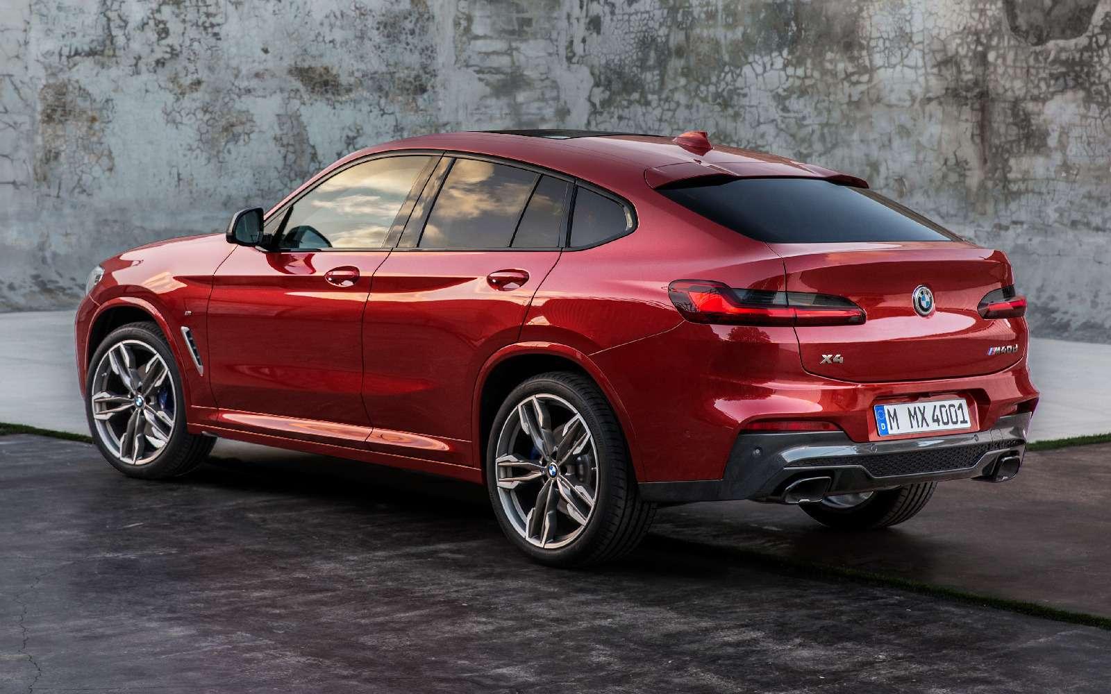 Новый BMW X4: искусство маскировки— фото 844920