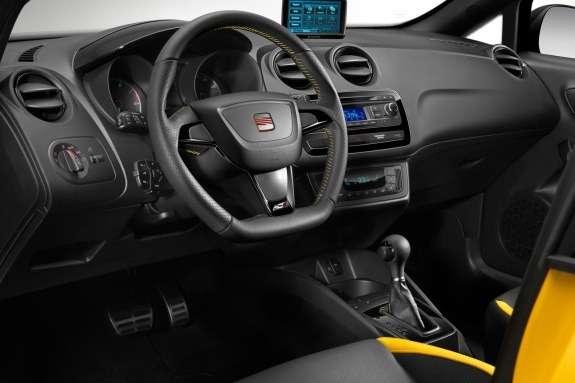 Seat Ibiza Cupra Concept inside