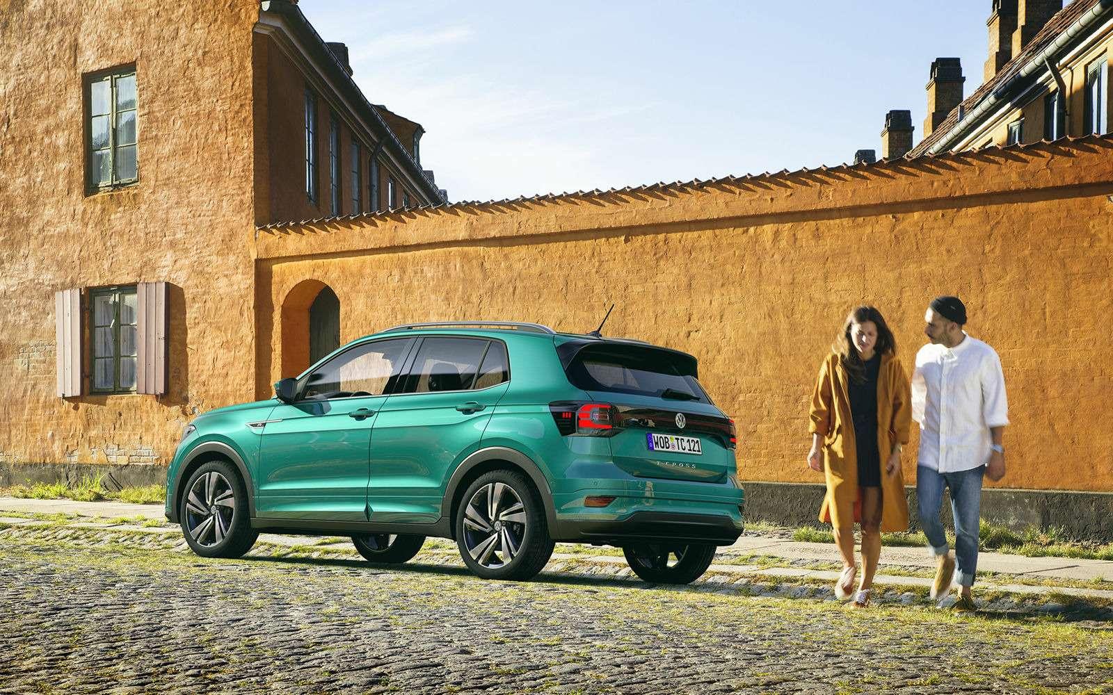 Новый кроссовер Volkswagen: онпоявится вРоссии!— фото 918197