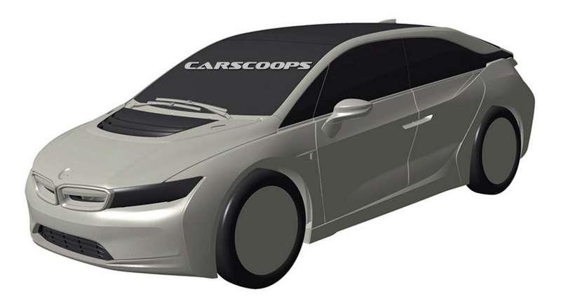 Вглобальной паутине появились изображения нового автомобиля БМВ i5