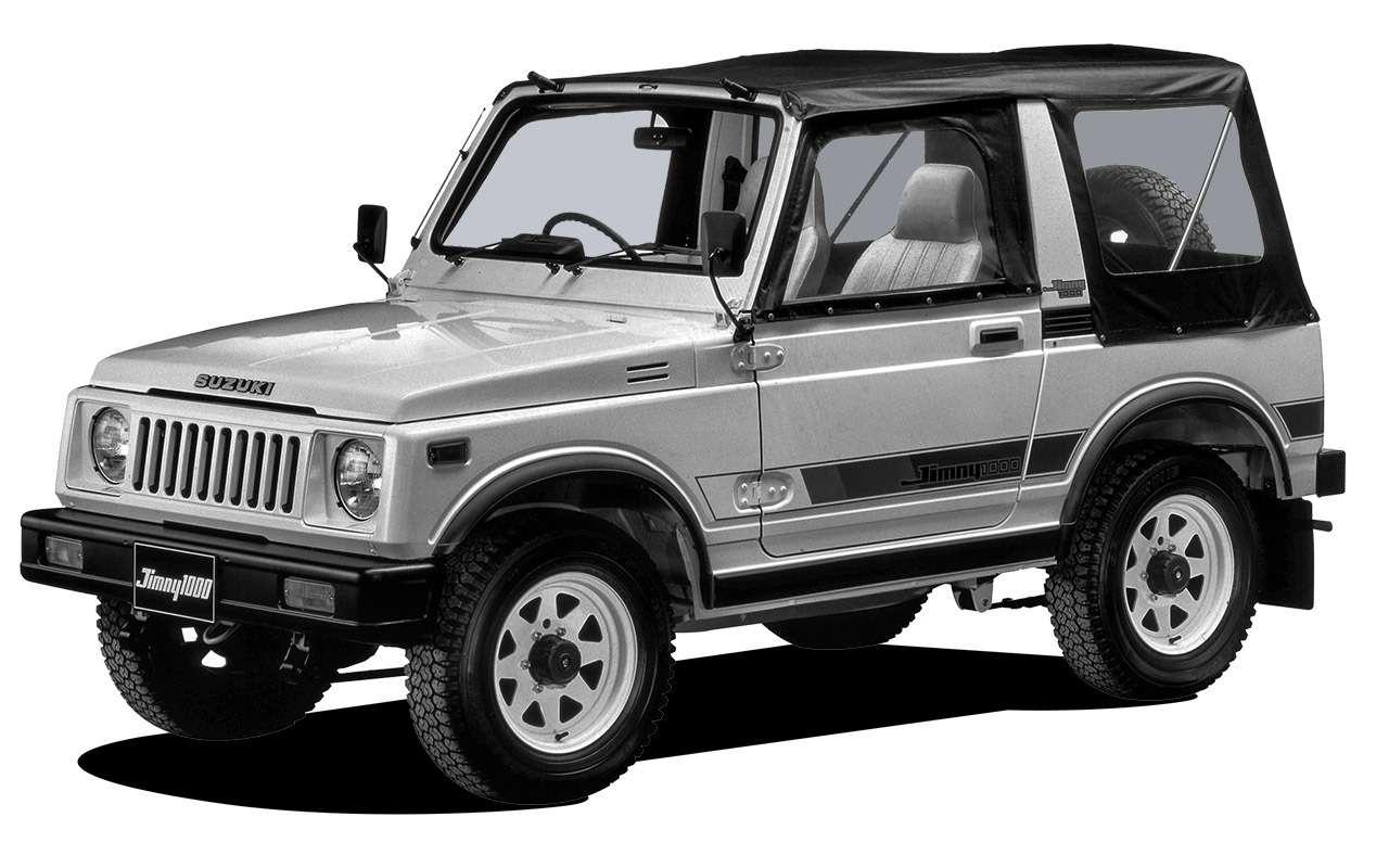 Новый Suzuki Jimny: все его изменения— фото 1007953