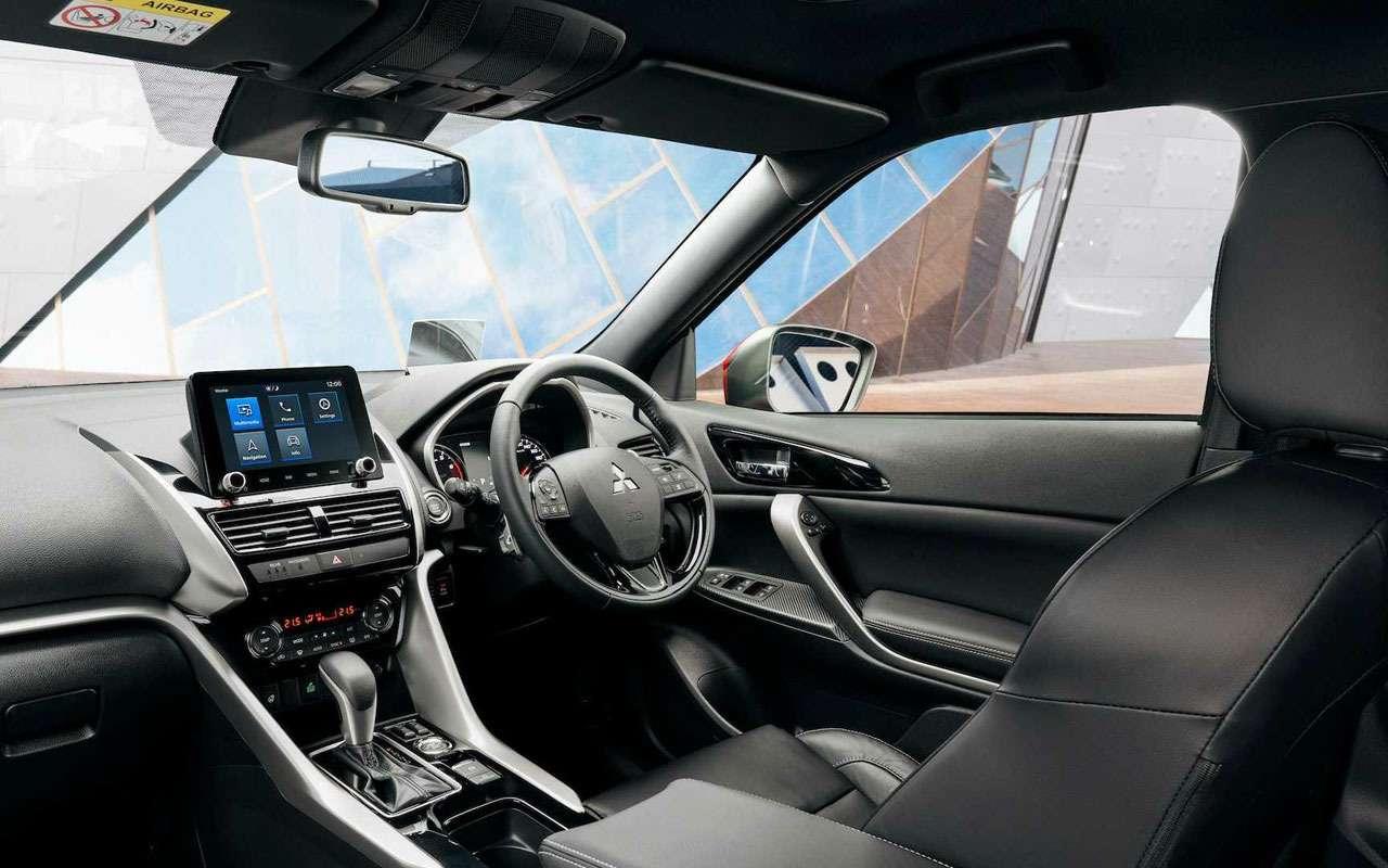 Mitsubishi Eclipse Cross получил важные изменения— фото 1194243