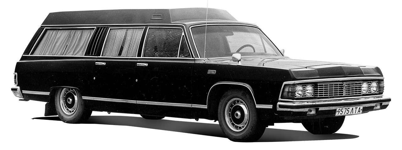 Тест машины, которую никогда непродавали: Чайка ГАЗ‑14— фото 998653