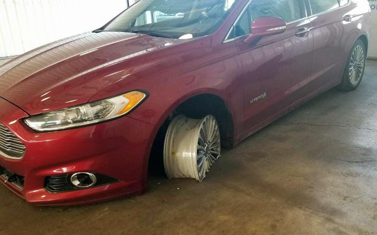 Загадка: как можно было ТАК сточить ведущие колеса (идиски)?— фото 1196062