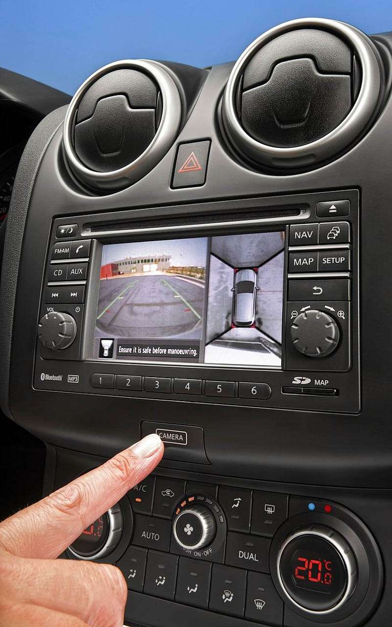 Around View Monitor 360° Nissan Qashqai