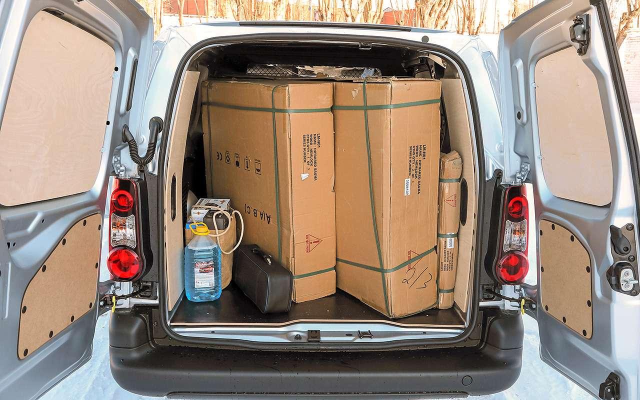Peugeot Partner изКалуги: рассмотрели совсех сторон!— фото 1231039