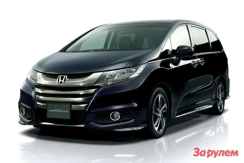 Новый минивэна Honda Odyssey дляяпонского рынка