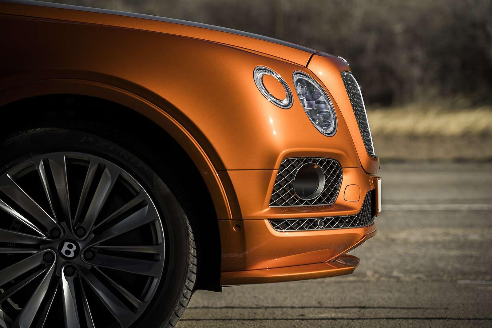 Самый быстрый внедорожник— теперь это Bentley— фото 949175