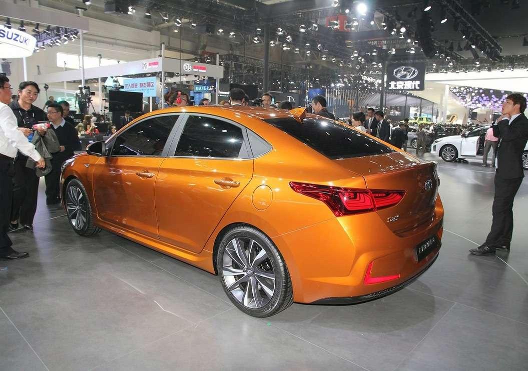 Каким может стать новый Hyundai Solaris— фото 580206