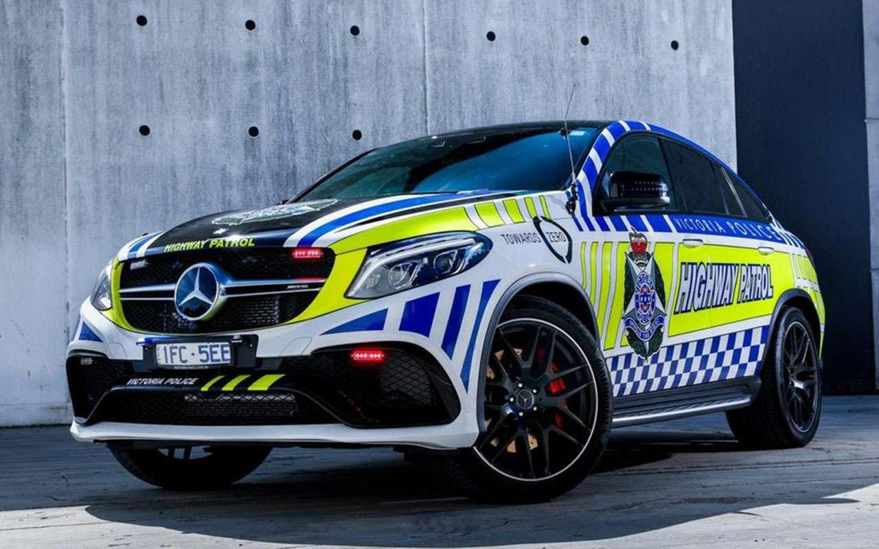 Топ-22 лучших ихудших полицейских автомобилей мира— фото 983546