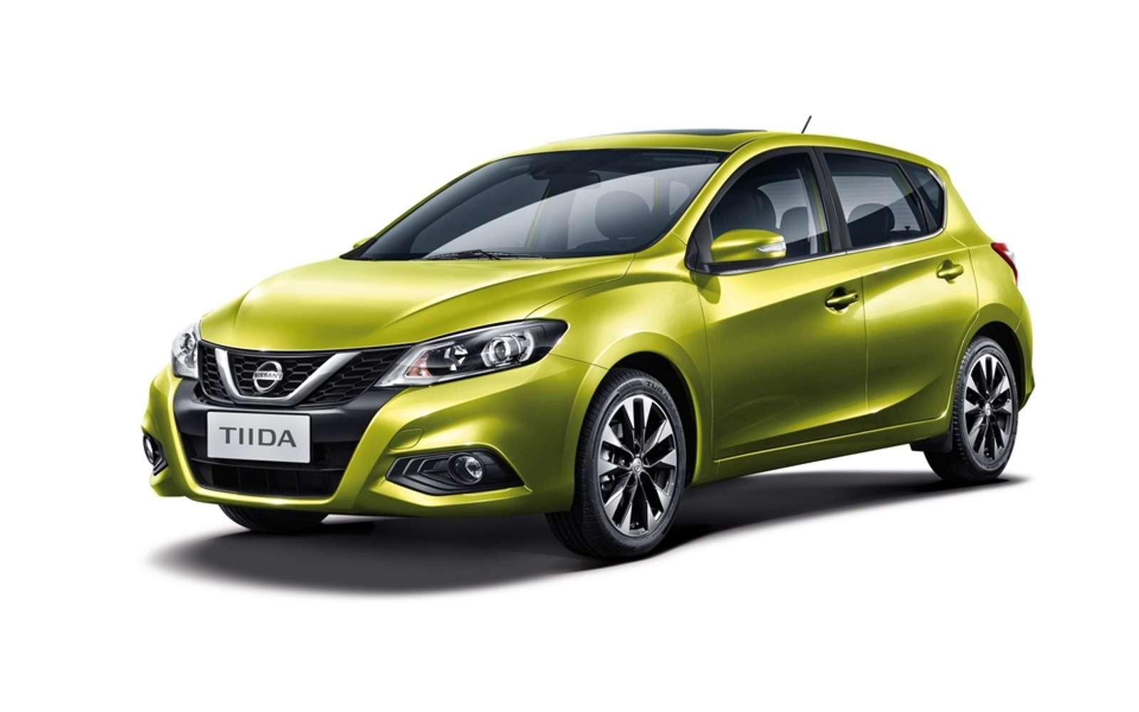 Обновленная Nissan Tiida позаботится омолодежи— фото 580861