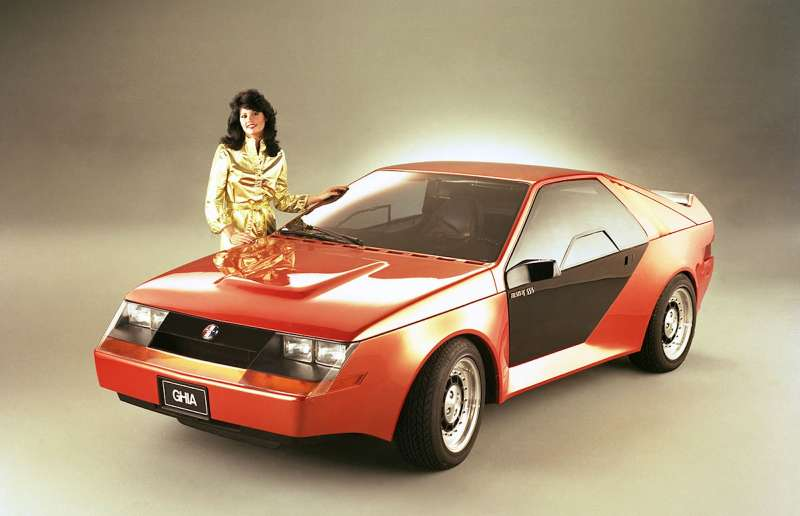 1980 Mustang RSX concept