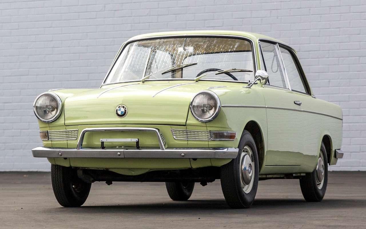 Почему уэтого BMW нет решетки радиатора— фото 1246553