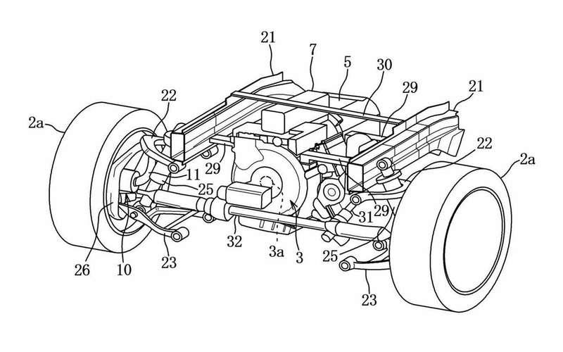 Mazda запатентовала новую силовую установку иполный привод