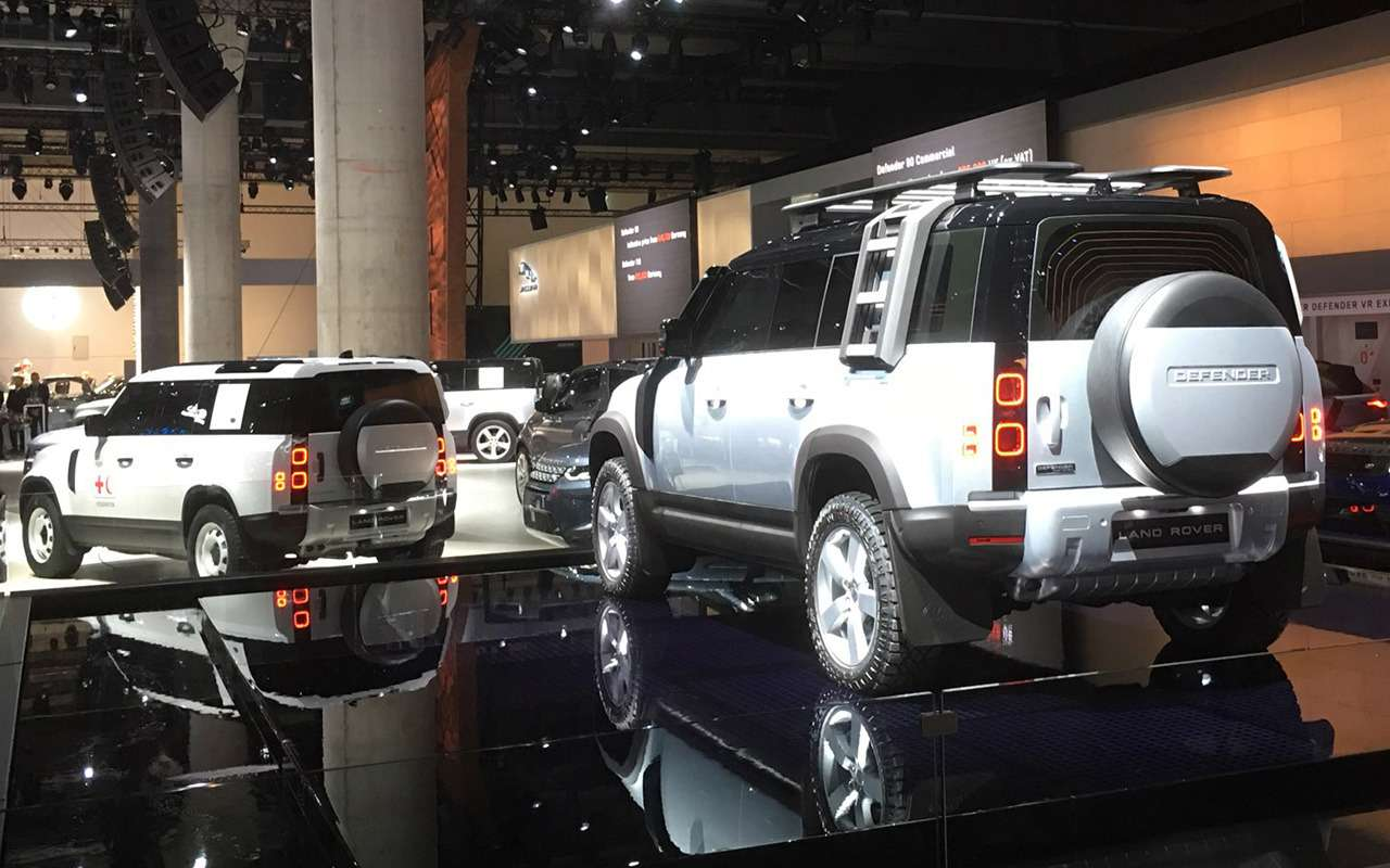 Новый Land Rover Defender: онбольше не рамный!— фото 995247