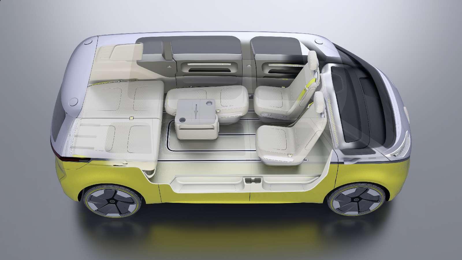 Volkswagen I.D.Buzz: между хиппи ихипстерами— фото 690422