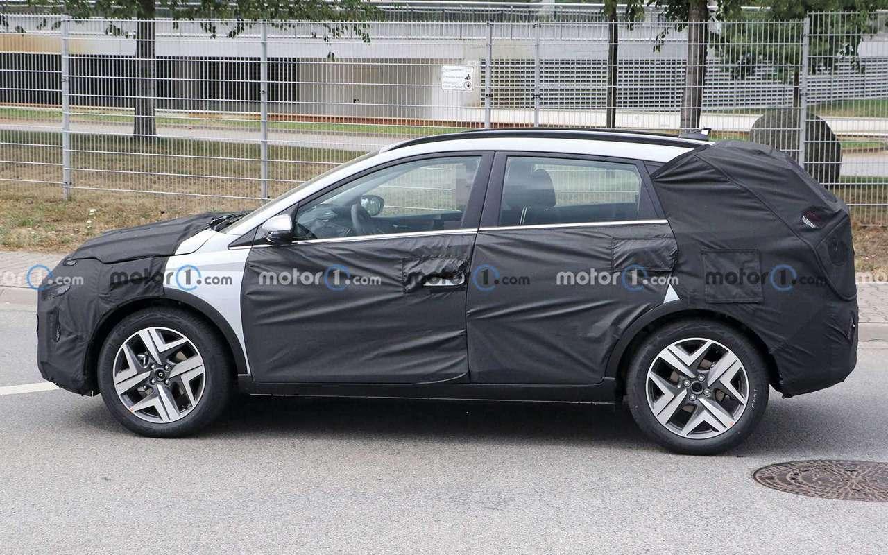 Новый кроссовер Hyundai натестах: подробности— фото 1204687