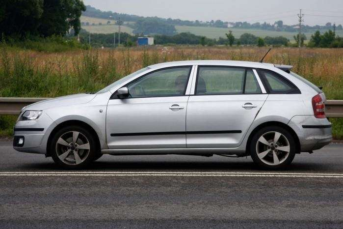 skoda rapid spaceback 3 no copyright