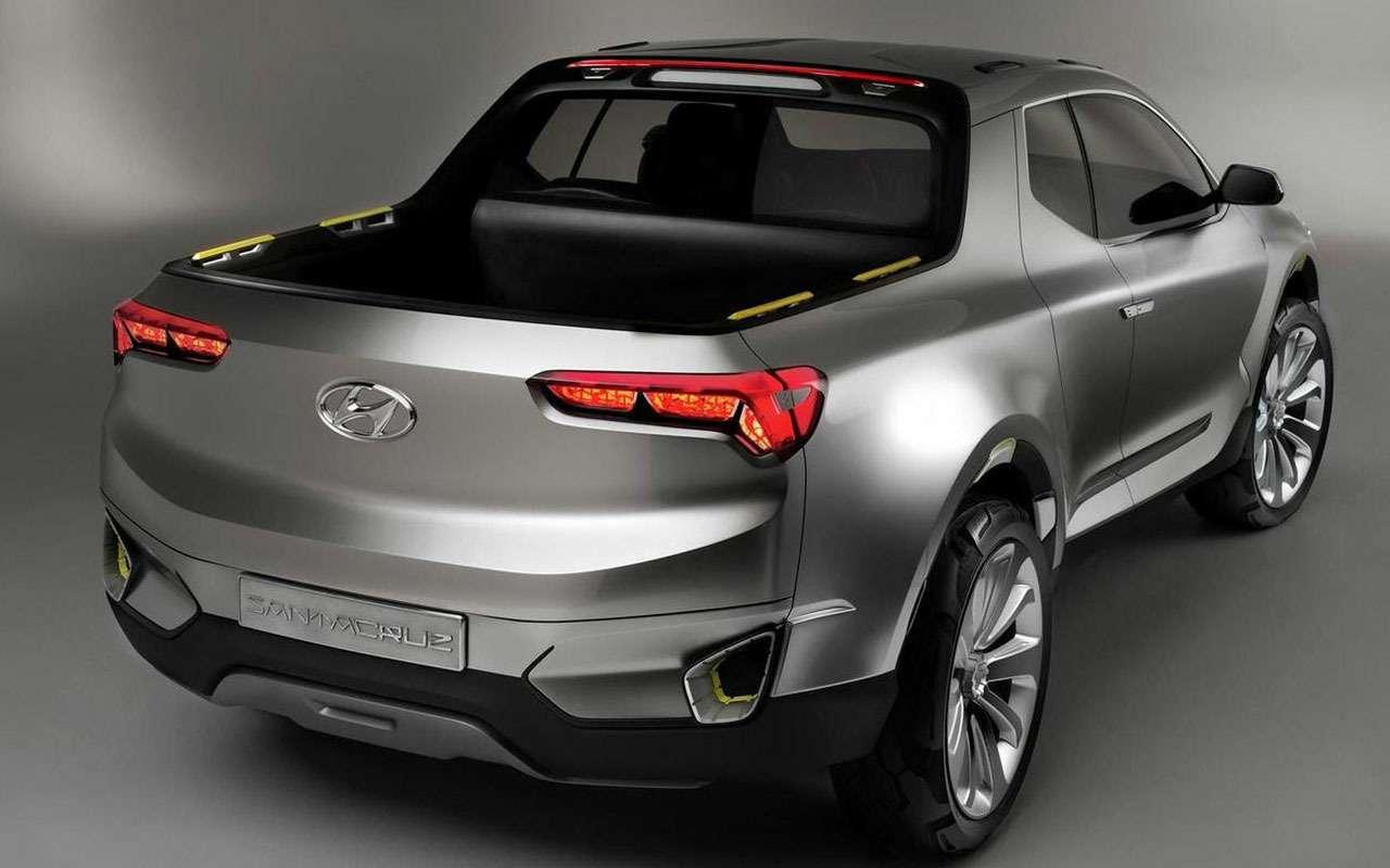 Hyundai решилась навыпуск пикапа. Осталось его разработать— фото 985356