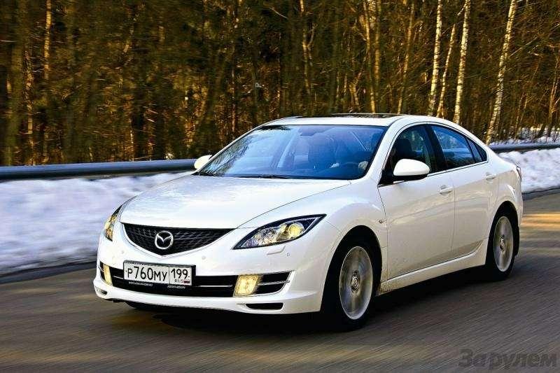 Тест Оpel Insignia, Mazda 6, Honda Accord: Чувство ритма— фото 93154