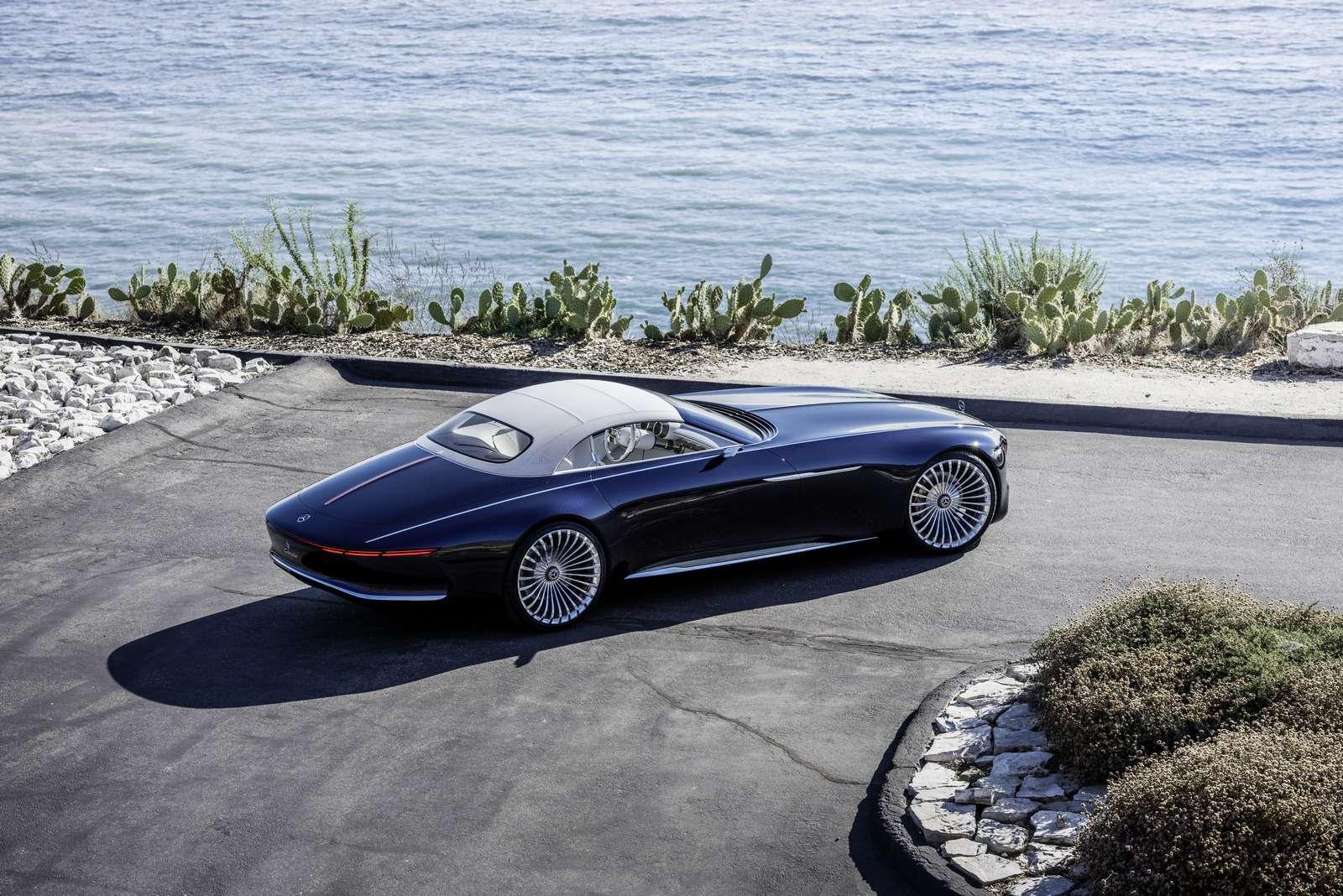 Пикник подкапотом: представлен кабриолет Mercedes-Maybach Vision 6— фото 786180